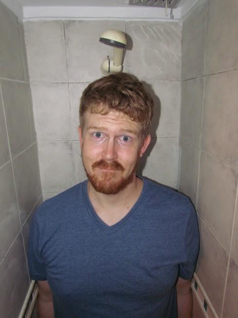 Shoulder room shower