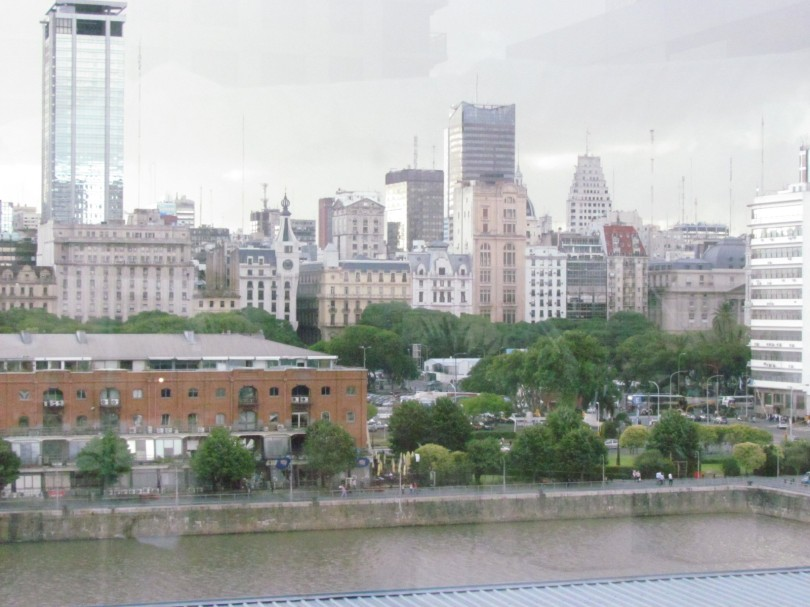 Buenos Aires Skyline from Puerto Madero