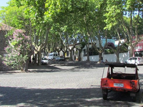 On the Streets of Colonia, Uruguay