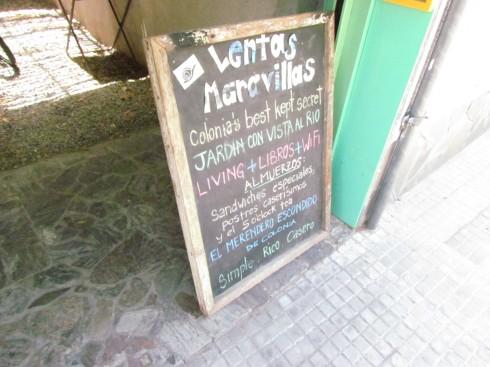 """Lunch at """"Lentas Maravillas"""""""