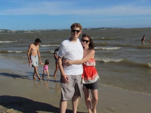 Beach in Colonia, Uruguay
