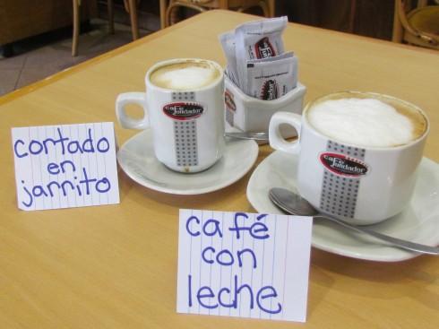 Coratdo en Jarrito and Café con Leche in Buenos Aires