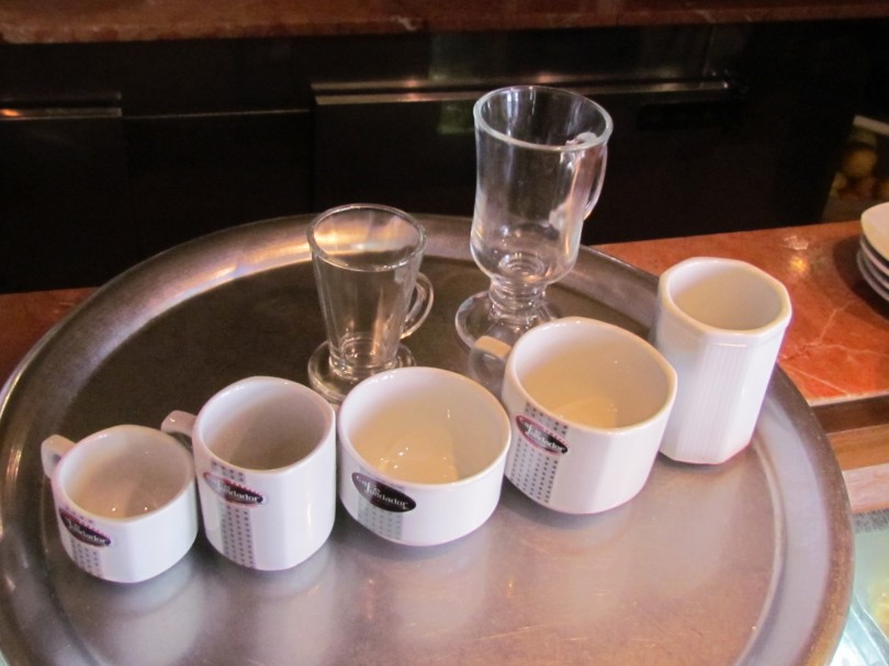 Coffee Sizes in Most Buenos Aires Cafés