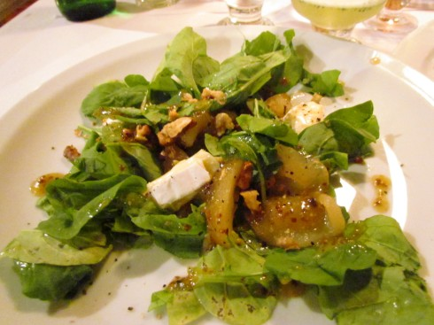 Cafe Rivas Pear & Gorgonzola Salad